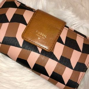 Fossil Leather Wallet Good Condition